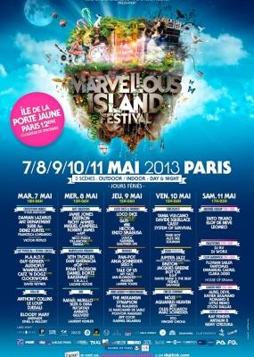 Marvellous Island 2013